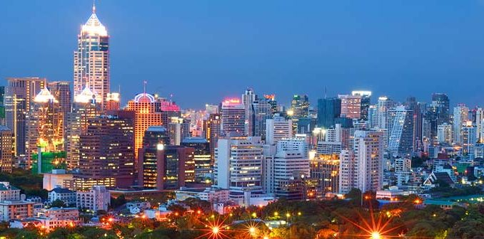 Photo de la ville de Bangkok