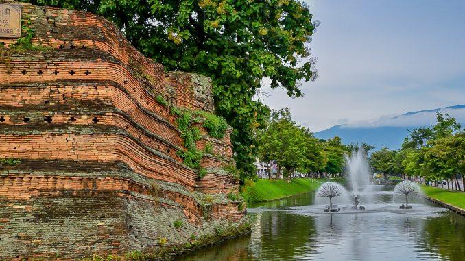 Ville de Chiang Mai Nord de la Thailande