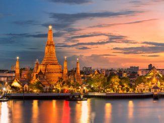 que faire et que voir absolument a bangkok, Wat Arun Bangkok, Thaïlande