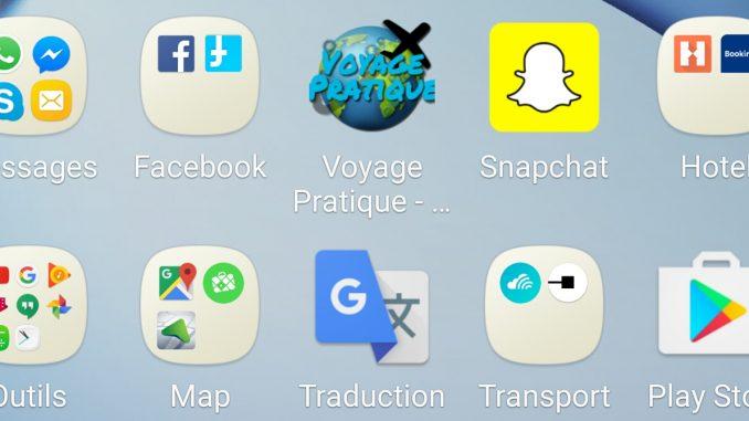 les milleurs applications mobile pour voyager